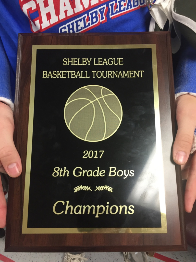2017 8th BK Shelby League Champs
